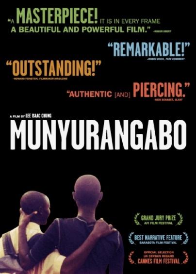 Munyurangabo DVD